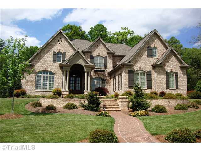 This four bedroom Winston-Salem home is priced at $1,100,000.  The home includes a home theater, library, an elevator and a gourmet kitchen.