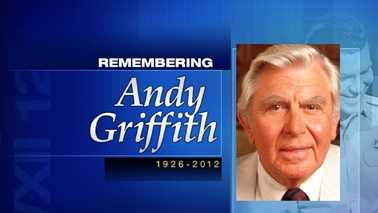 Andy Griffith obit graphic