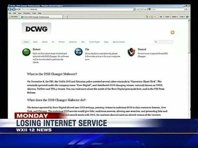 To check whether a computer is infected, users can visit a website run by the group brought in by the FBI: http://www.dcwg.org.