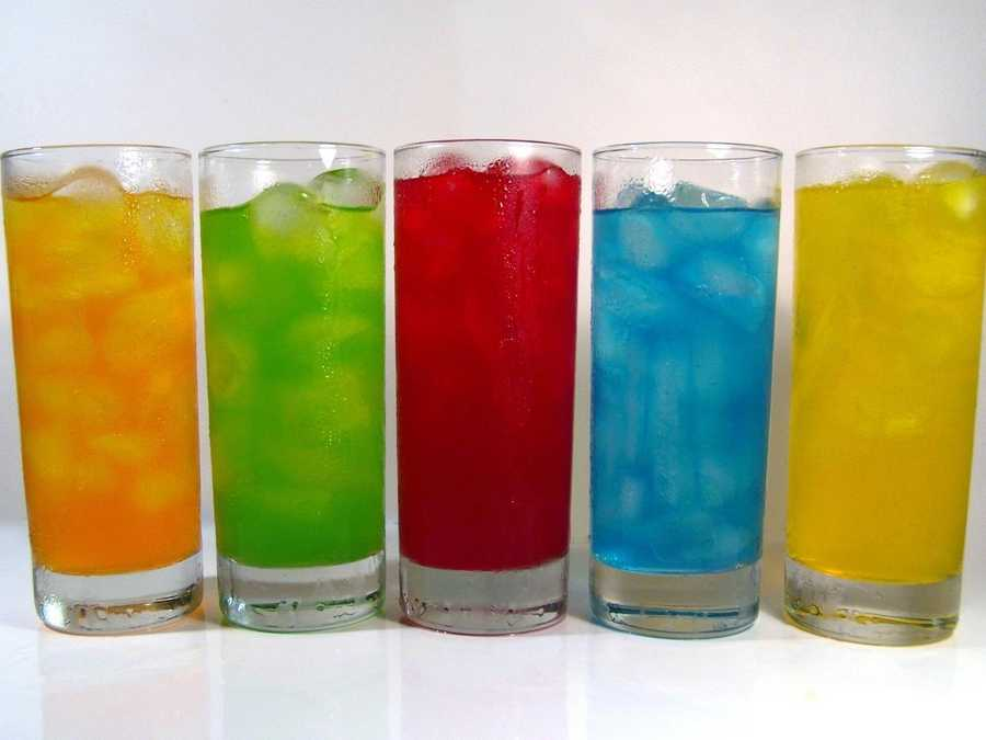 2. Keep yourself hydrated. Instead of alcohol and sodas, look for items like water -- even Kool-Aid.