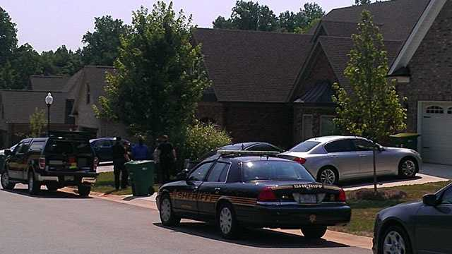 Assault investigation in Barrington Oaks subdivision (Ericka Miller/WXII)