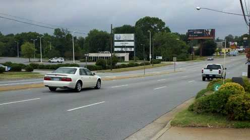 Scene of double fatal pedestrian hit-and-run (Rich Cisney/WXII)