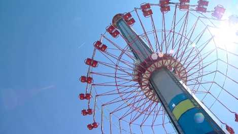 WindSeeker ride at Carowinds