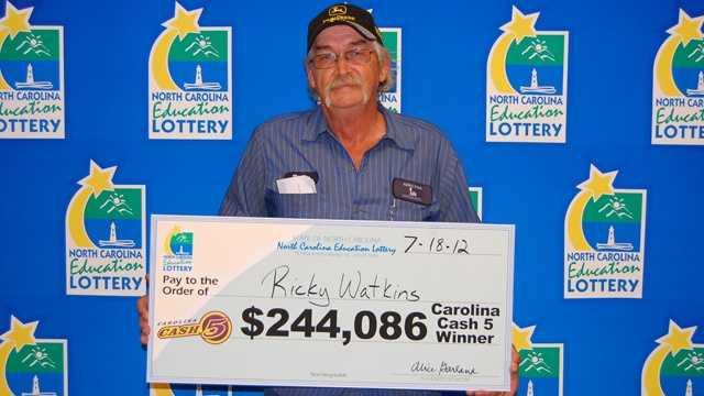 Ricky Watkins (NC Education Lottery)