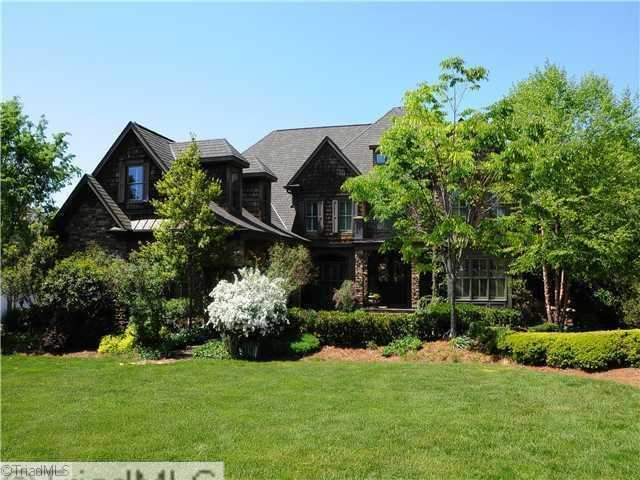 This Winston-Salem home has over 8600 square feet, five bedrooms, nine bathrooms and is priced at $1,395,000.