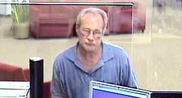 Surveillance Photo of attempted robbery suspect at Bank of America (Winston-Salem Police)