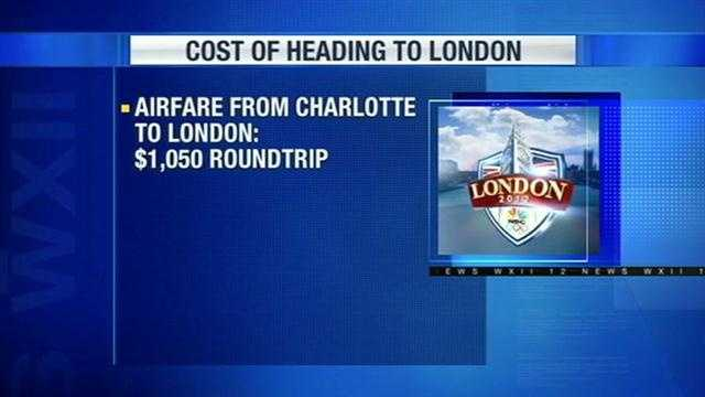 She said the cheapest round-trip ticket AAA could find was from Charlotte to London for about $1,050.