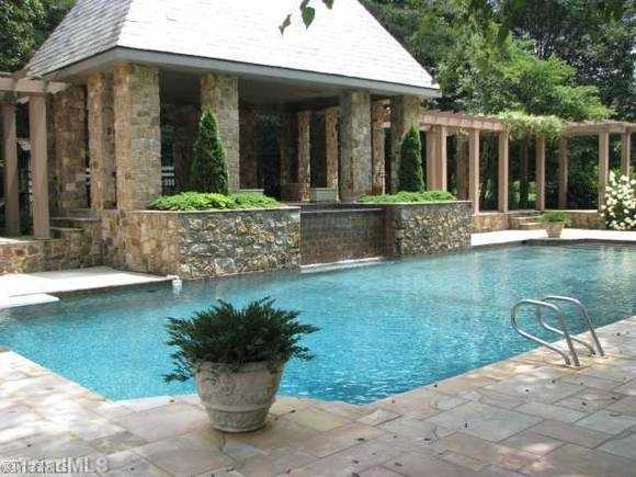 Swimming Pool with outdoor entertaining area