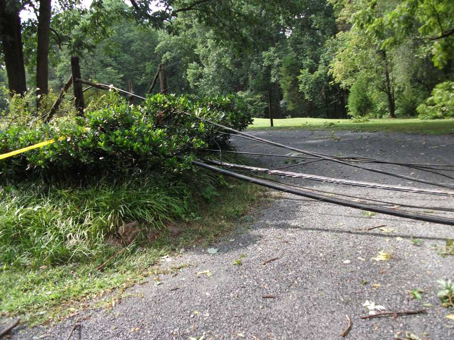 In Forsyth County, more than 5,000 Duke Energy customers were without power as of 5 p.m. By 8:30 p.m., that number was less than 2,000. Valley Road didn't have power until early Saturday morning around 5am. Time Warner was out all day.