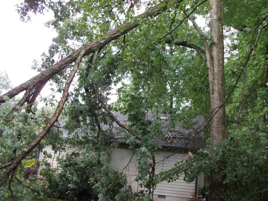 Clean up will begin but headaches for many homeowners because of Friday's storm.