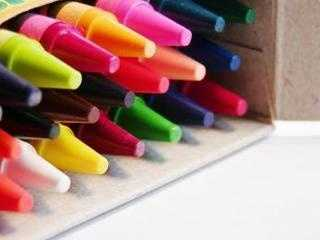 Crayons also fall under the school supply category.