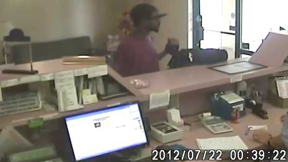 Days Inn robbery surveillance photo (Winston-Salem police)