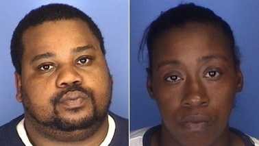 Christopher Williams, left, and Taisha Mack, right (Burlington police)