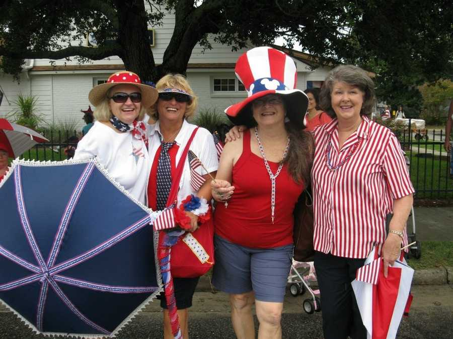 More parade fun