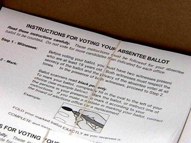 November 3, 2012: One-stop absentee voting end.