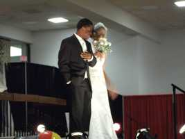 Men's Wearhouse and Jos. A. Bank represented in The Carolina Weddings Fashion Show...
