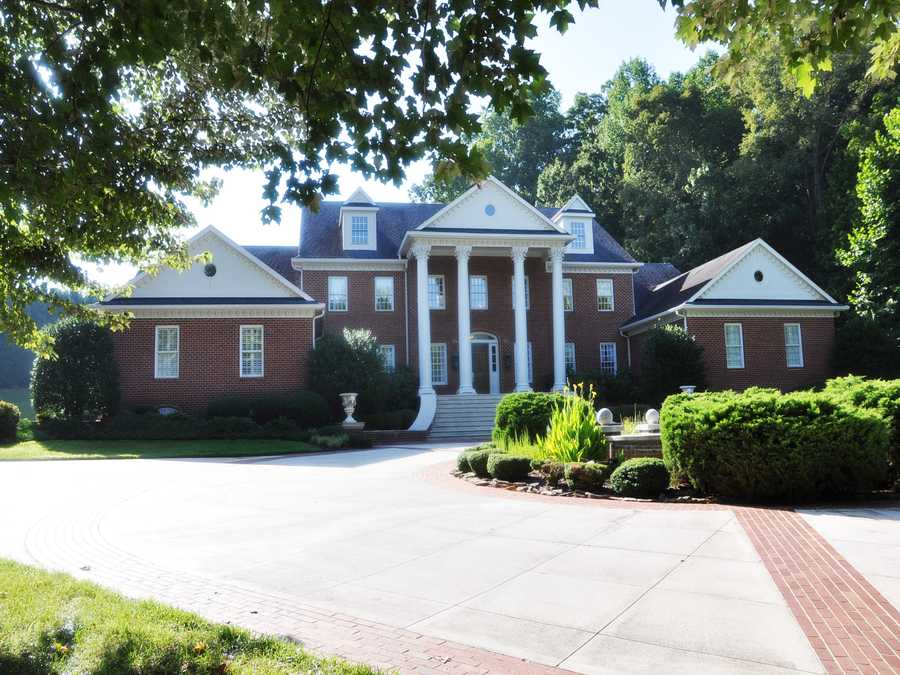 This Winston-Salem property has over 14,000 square feet of living space. The home features a wine cellar, home theater, gym and is priced at $3,995,000.