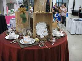 China sets and stemware can be found on the couples registry at Belk...