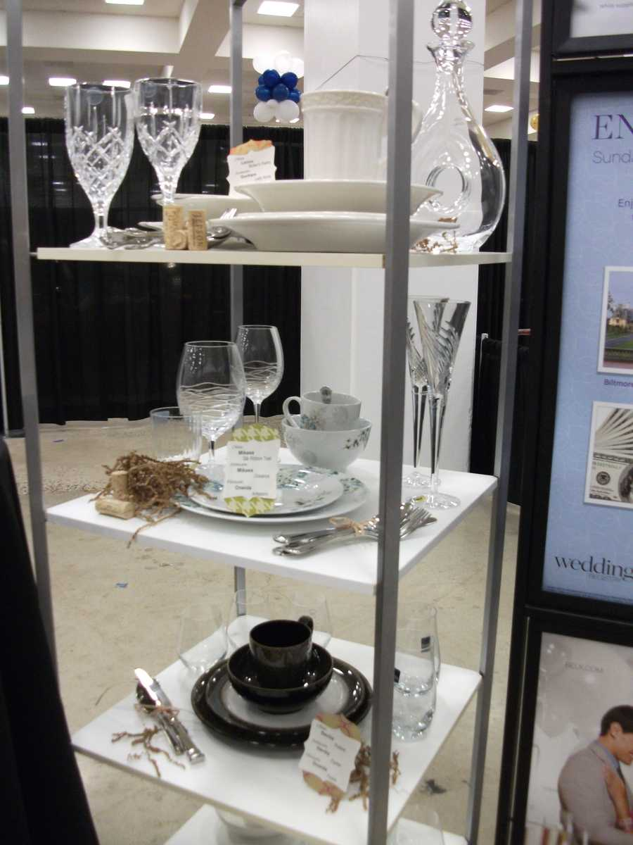 Belk had several gifts to show case at the Carolina Weddings Show...