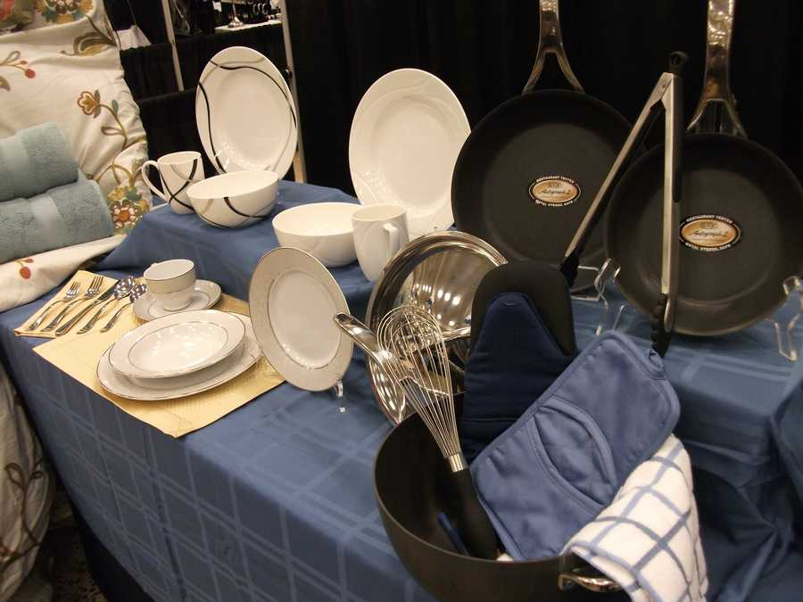 China, flatware, bedding and towels are all available at Bed Bath and Beyond...