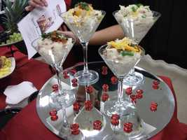 Serving up potatoes a little differently is part of the catering experience...(Sagebrush Steakhouse)