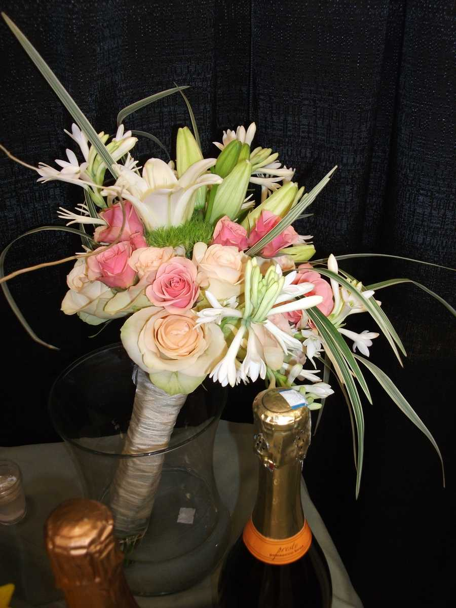 Bouquets can be made fresh at certain stores...(Whole Foods Market)