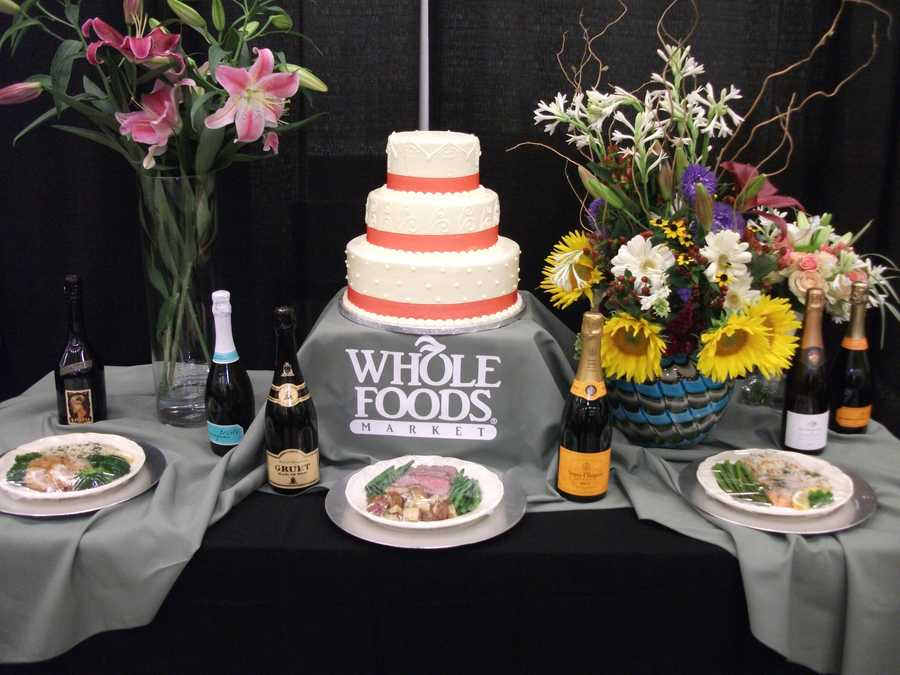 Whole Foods Market even serves up some cake at the The Carolina Weddings Show...