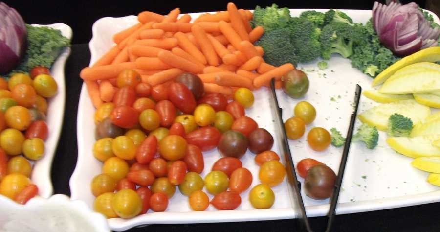 Whole Foods Market can serve many different organic vegetables from their store...
