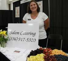 Salem Catering was even featured at The Carolina Weddings Show...