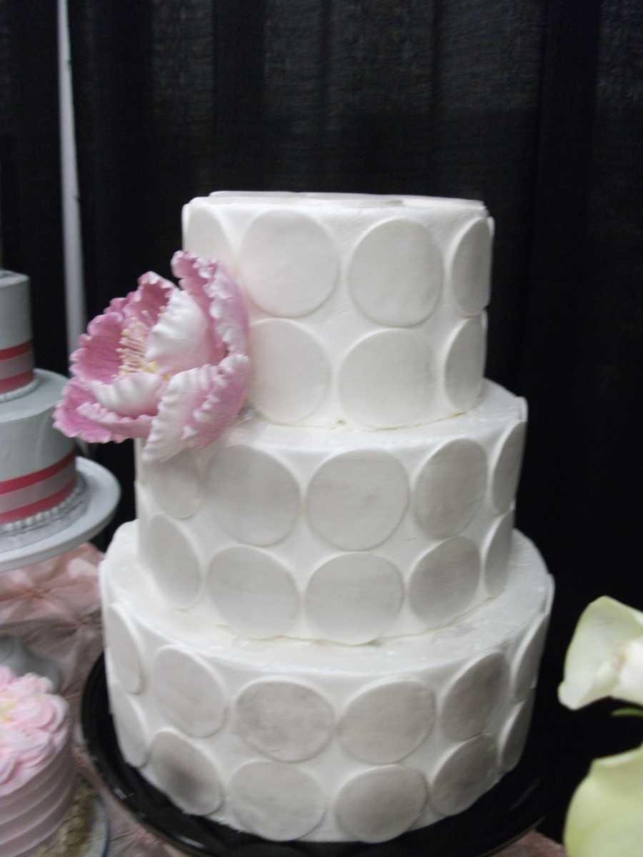 Cake & All Things Yummy has so many styles to choose from that a couple could be covered for all their cake needs...