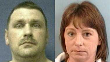 Steve Lawrence Kitchens, left, and Tonya Kitchens, right (Guilford County Sheriff's Office)