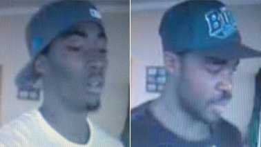 Surveillance images (Courtesy High Point police)
