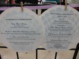 """Invitations with sea shells can help represent you """"Beach"""" Themed Wedding. You could have anything you want on the invitations to represent the theme of your wedding. For instance, movie tickets or movie reels for a """"Hollywood"""" Themed Wedding...(Noteworthy - Fine Paper Gifts)"""