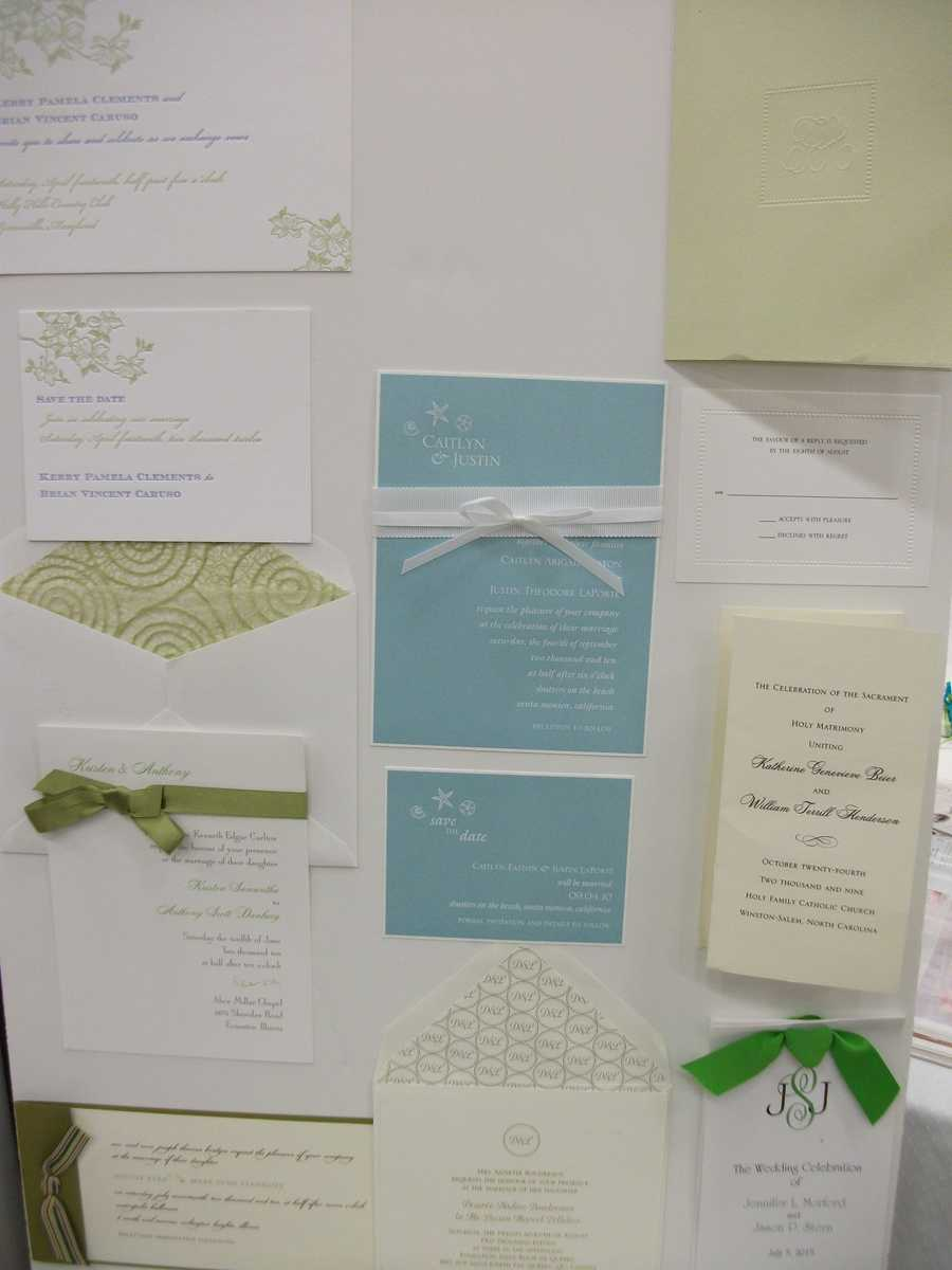 Noteworthy - Fine Paper & Gifts has so many invitations and other paper products for your wedding planning...