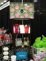 Gifts and favors for the wedding were displayed at The Carolina Weddings Show by Noteworthy - Fine Paper & Gifts...