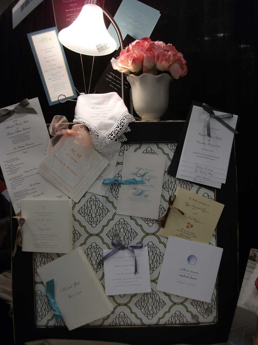 Fine linen or card stock can be purchased from Invitations Only - A Fine Stationary and Gift Boutique...