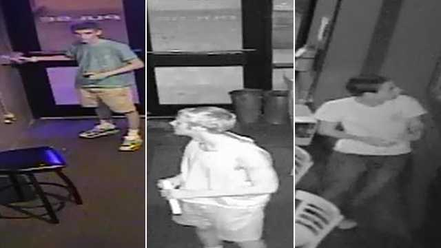 (Surveillance images courtesy Chapel Hill Police Department)