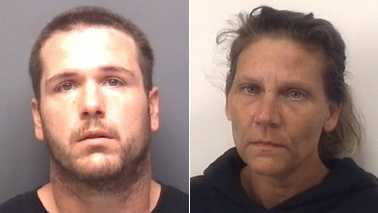 Charles Haney and Tonya Proctor (Davidson County Sheriff's Office)