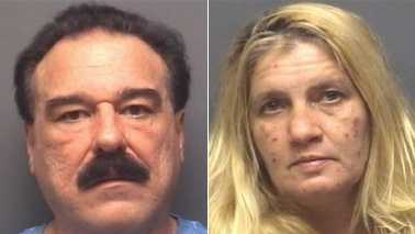 William Cain, left, and Regina Cox, right (High Point police)