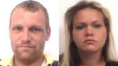 Brandon Grainger, left, and Michelle Marie Peterson, right (Davidson County Sheriff's Office)