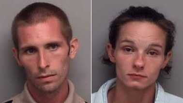 Lane Arnold, left, and Stephanie Arnold, right (Henry County Sheriff's Office)