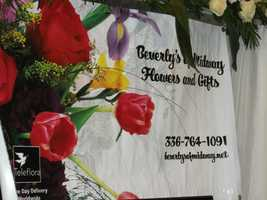 Beverly's Midway Flowers and Gifts was at The Carolina Weddings Show...