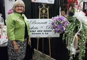 Bennett's Baskets N Bows was represented at The Carolina Weddings Show.