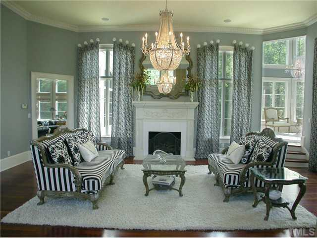 Forma Living Room with fireplace
