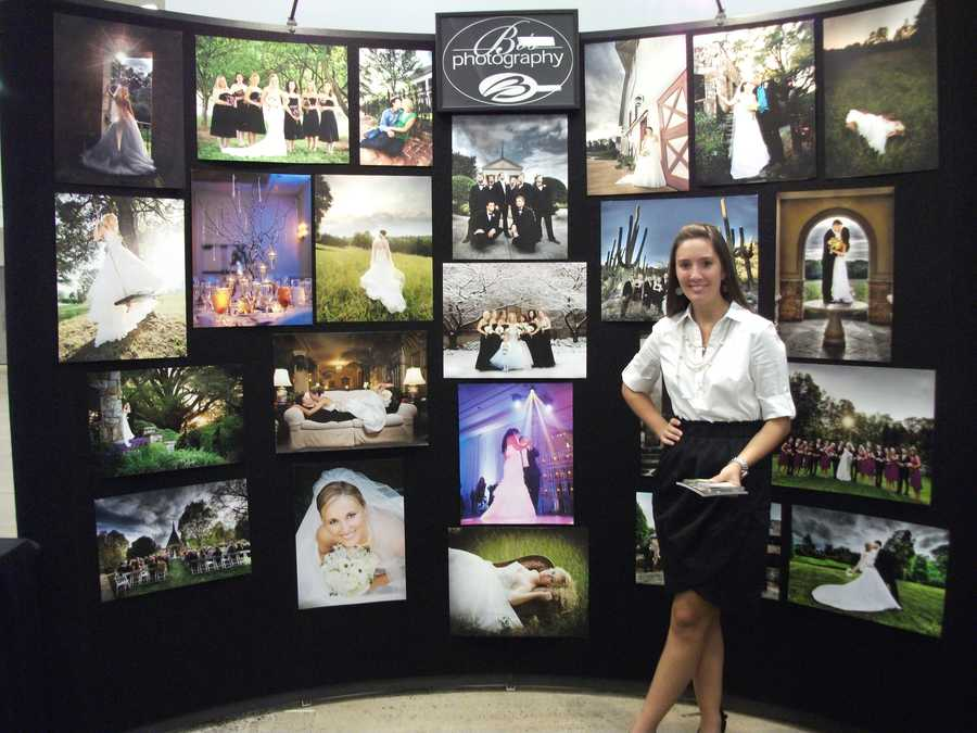Bob Photography was also talking to couples about their photo taking styles, packages and displaying some of their work...
