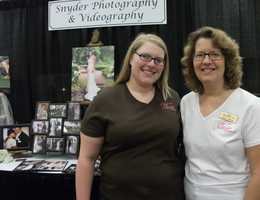 Snyder Photography and Videography was atThe Carolina Weddings Show talking to couples...