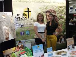 In His Service Productions, llc. was also available atThe Carolina Weddings Show. They do video as well as photos.