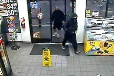 Circle K on Red Brush Road and Cupboard on Highway 601 have been robbed in recent days. The Surry County Sheriff's Office on Monday released these surveillance images.