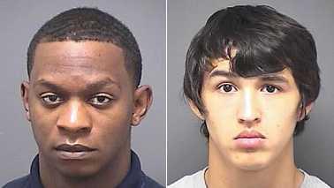 Antonio Morehead, left, and Jose Montoya, right (Greensboro police)