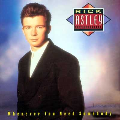 Frieda Eakins: The first cd I owned is Rick Astley's Whenever You Need Somebody 1987. Until then, I kept buying cassettes.